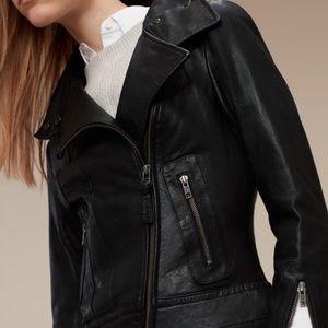 Mackage Kenya Black Leather Jacket XXSmall